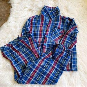✨GAP✨Boys 6✨2pc Plaid Pajama Set